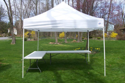 10u0027 X 10u0027 EZ-UP Canopy & Party Rentals EZ Up Canopy - Dutchess County