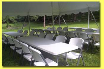 table chair rentals dutchess county